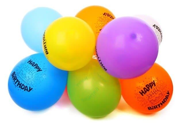 декорация за РД с балони