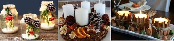 Декорация със свещи