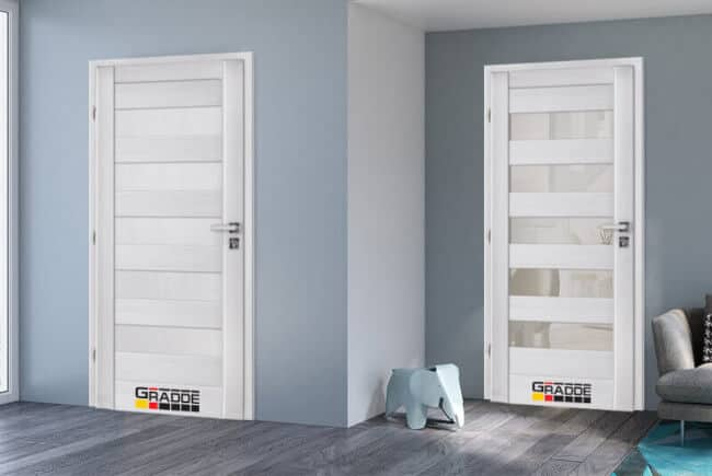 бели врати за интериор