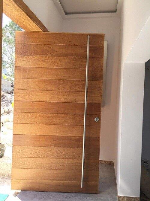 инсталиране на блиндирана врата